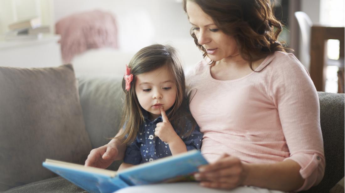 Čtení sdětmi